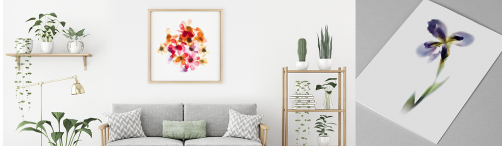 Floral collection - Floral art prints, stationery and gifts